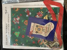 Dreamcatcher Xmas Stocking counted cross stitch kit - Never Used!! in St. Charles, Illinois