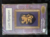 Lion Rampart counted cross stitch kit - Never Used!! in St. Charles, Illinois