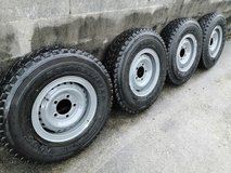 GRJ76 79 Land cruiser rims and tires in Okinawa, Japan
