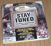 NEW 2002 Stay Tuned TVs Unforgettable Moments Hard Cover Book + 2 CDs + 1 DVD in Plainfield, Illinois