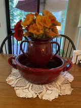 Pottery barn bowl and urn? New price in Fort Lewis, Washington