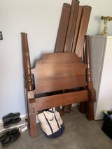 Solid cherry antique twin bed in Fort Campbell, Kentucky