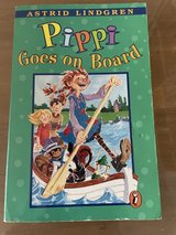 Pipi goes on board in Okinawa, Japan