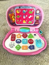 Vtech Brilliant Baby Laptop Pink Letters Numbers Shapes Sounds in Chicago, Illinois