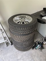 Chrysler Town and Country wheels and winter tires in Quad Cities, Iowa