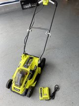 """Ryobi 16"""" 40-Volt Lithium-Ion Cordless Battery Walk Behind Push Lawn Mower in Fort Campbell, Kentucky"""