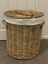 Bed Bath and Beyond - Wicker Laundry Basket/Hamper in Camp Pendleton, California