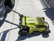 Battery Operated Lawn Mower in Camp Pendleton, California