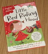 Little Red Riding Hood Reading with Phonics Hard Cover Book in Joliet, Illinois