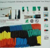 164 piece Polyolefin Shrink tube Assorted Sizes in Chicago, Illinois