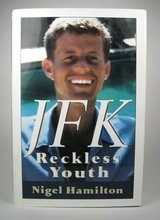 Vintage 1992 JFK Reckless Youth Biography John F. Kennedy Hard Cover Book in Chicago, Illinois