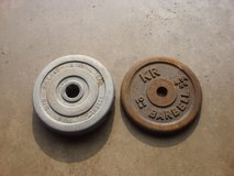 ONE 8 , OR ONE 10 POUND BARBELL WEIGHTS. in Chicago, Illinois