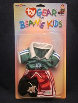 Ty Gear For Beanie Kids Clothes Outfit VINTAGE NEW in PACKAGE in Glendale Heights, Illinois