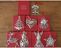 Lenox Sparkle and Scroll Mutli Colored Crystal Ornaments in Joliet, Illinois