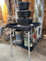 Dutch Oven/Camp Stove stand in Vacaville, California