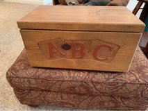 decorative wooden chest in Westmont, Illinois