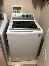 GE® 4.6 cu. ft. Capacity Washer with Stainless Steel Basket in Fort Campbell, Kentucky