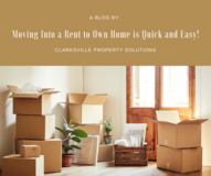 Moving Into a Rent to Own Home is Quick and Easy! in Fort Campbell, Kentucky