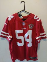 Authentic SF49ER #54 Jersey in Travis AFB, California