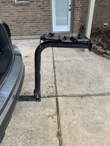 Hitch mount bicycle carrier in Spring, Texas