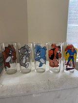 Comic Glasses of Spike, Tom, Jerry, Barney & Superman in Chicago, Illinois