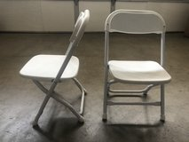 Kids White Folding Chairs in Travis AFB, California