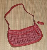 Coach Small Red Hand Bag Purse in Chicago, Illinois
