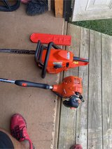 ECHO Chainsaw and Weed Eater in Fort Campbell, Kentucky