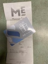 $130 Massage Envy Gift Card (never used) Selling for $100 in Baytown, Texas