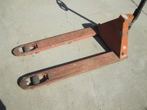 Jack hand truck, pallet type, not stay up very long, needs oil fluid in Camp Pendleton, California
