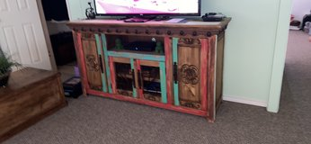 Distressed rustic cabinet multiple purpose in Baytown, Texas