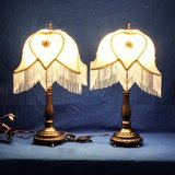 NEW! DALE TIFFANY VICTORIAN ANTIQUE STYLE TABLE LAMP SET OF TWO in Travis AFB, California