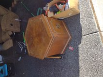 Octagon end table in Travis AFB, California