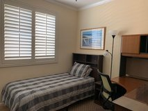 Furnished Single Bedroom with TwinXL Bed: Ideal for Military (Oceanside) in Temecula, California