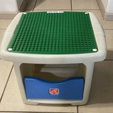 Lego Duplo Storage & Activity Table by Step 2 in Travis AFB, California