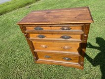 Antique Walnut 4Drawer Chest Farmhouse Fabulous ! in Cherry Point, North Carolina