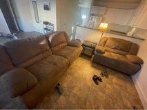couch/loveseat set in 29 Palms, California