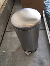 Stainless Steel Garbage Can in Cary, North Carolina