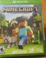 MINECRAFT XBOX ONE edition MOJANG in like new condition in Joliet, Illinois