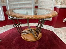 Glass Kitchen Dinette table with 4 Chairs in Pearland, Texas