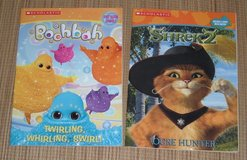 Lot of 2 NEW Scholastic Coloring & Activity Books Boobah & Shrek 2 in Chicago, Illinois