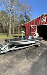 Bass Boat in Spring, Texas
