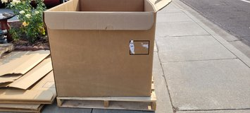 5 Boxes and 3 Pallets in Travis AFB, California