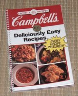 Vintage 1992 Campbell's Deliciously Easy All Time Favorite Recipes Spiral Bound Book in Chicago, Illinois