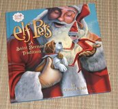 Elf on the Shelf Elf Pets A St Bernard Tradition Hard Cover Book in Chicago, Illinois
