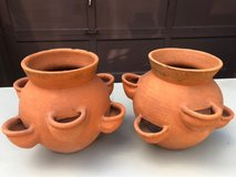 Pair Strawberry Pots in Glendale Heights, Illinois