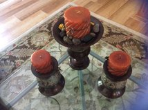 Decorative Candle Set of Three in Beaufort, South Carolina