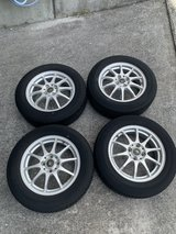 """15"""" Schneider A-Tech wheels and tires in Okinawa, Japan"""