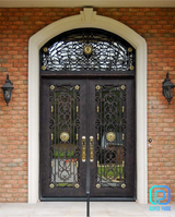 Manufacturer Of Luxury Crafted Wrought Iron Entry Doors in Bellaire, Texas