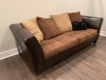 3-seater couch,Brand- Ashley, other items available!  from $100 now $75 in Philadelphia, Pennsylvania